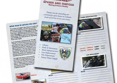 City of San Marcos brochure