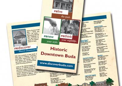 Downtown Buda brochure