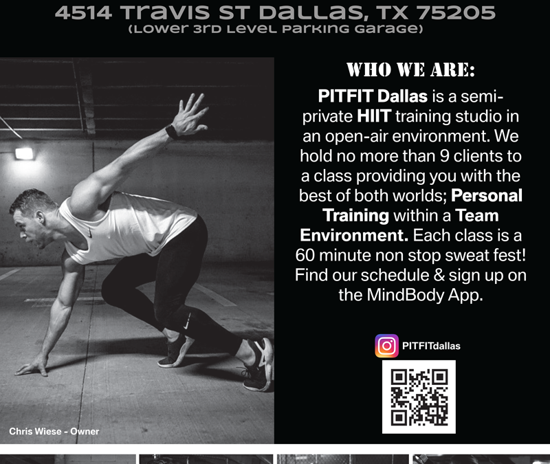 Pitfit Dallas Poster