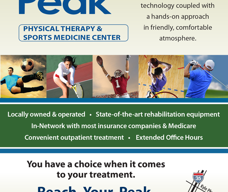 Peak Physical Therapy Ad