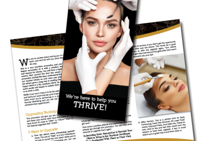 Sunrise Marketing brochure