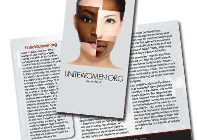 Unite Women brochure